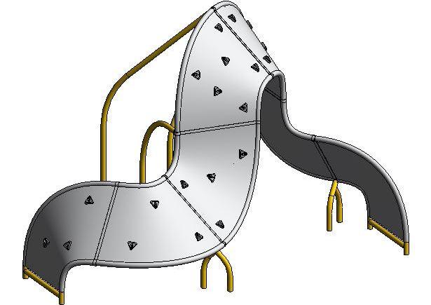 Mobius Climber Play Structure – landarchBIM