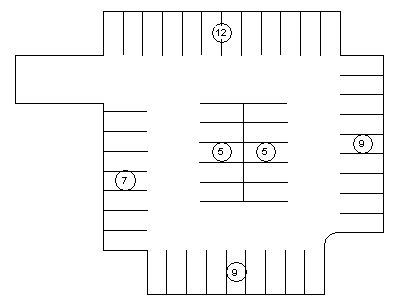 parking option1 parking option2 tagged parking schedule  Initial Parking  Layouts and Schedules landarchBIM. Parking Layouts