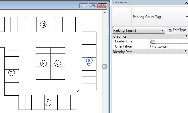 Initial Parking Layouts and Schedules – landarchBIM