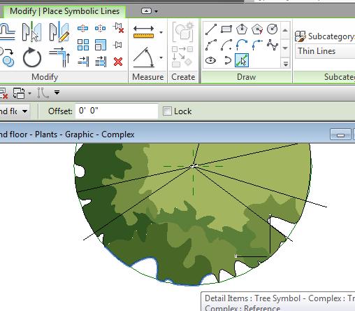 Complex Planting Graphics – landarchBIM