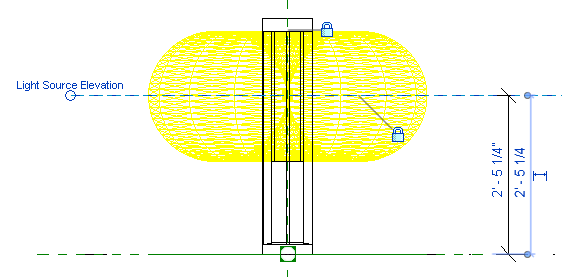 light source elevation