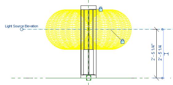 light source elevation