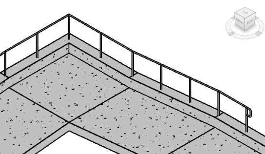 Sloped Railing without a Host – landarchBIM