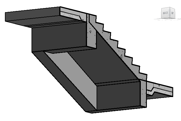 Stair Structure using Model In-Place – landarchBIM