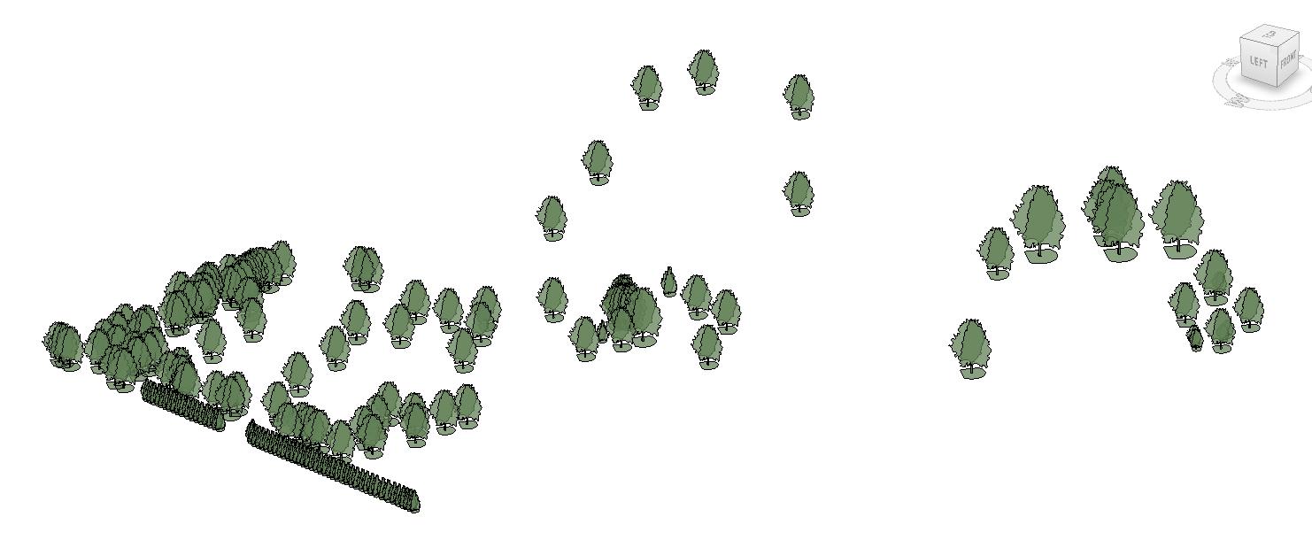 Map Existing Trees with Survey Data – landarchBIM